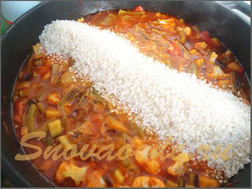 рис для паэльи