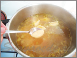 бабушкин суп с клёцками