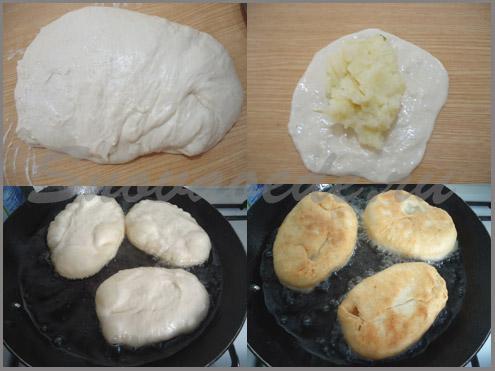 Пирожки с картошкой и луком