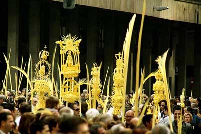 Вербное воскресение в Испании