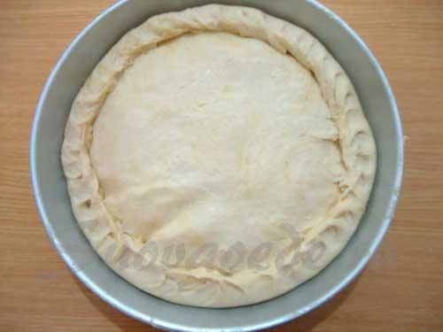 слепить пирог