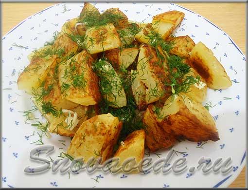 Как вкусно приготовить жареную картошку