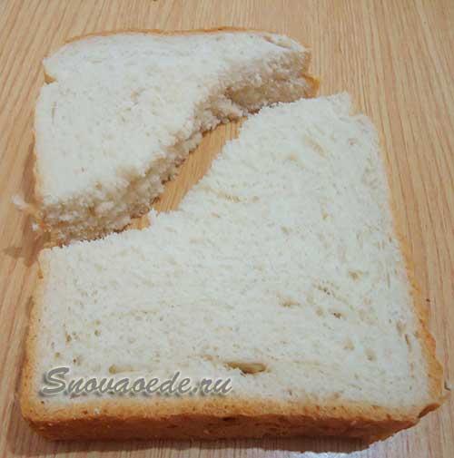 Быстрый завтрак для детей-сэндвич рояль