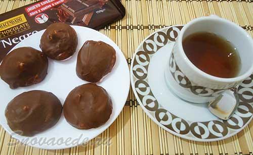 малиновый зефир в шоколаде