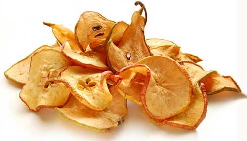 сушеные груши и яблоки