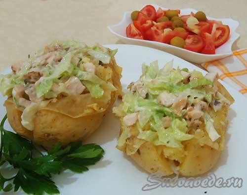 как вкусно и быстро  приготовить картошку