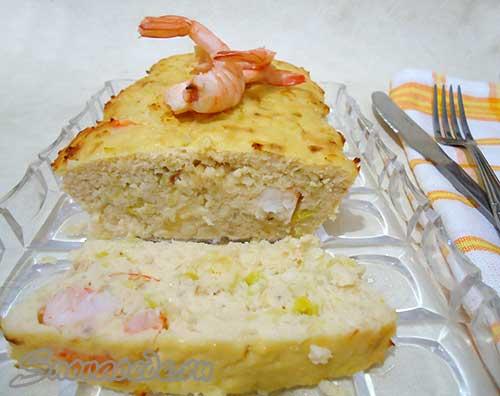 рыбная запеканка или рыбный хлеб