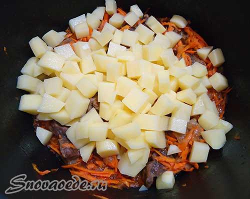 как приготовить манты с картошкой с мясом в