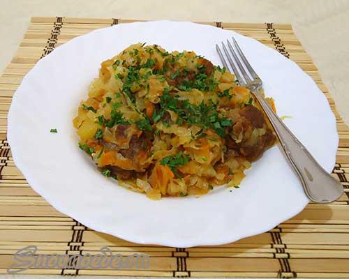 как приготовить штрудель с мясом и картошкой