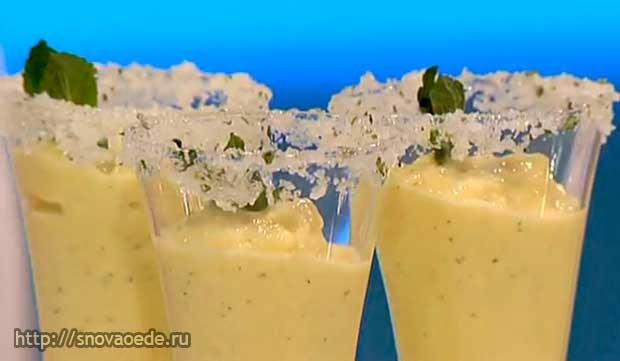 Сорбет с ананасом рецепт