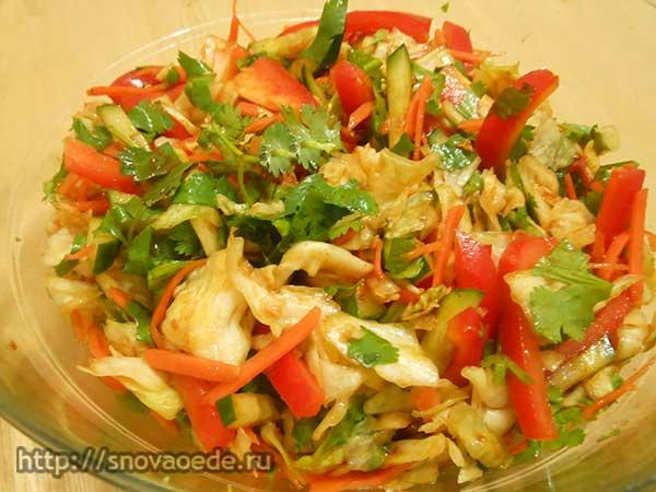 корейский салат с капустой