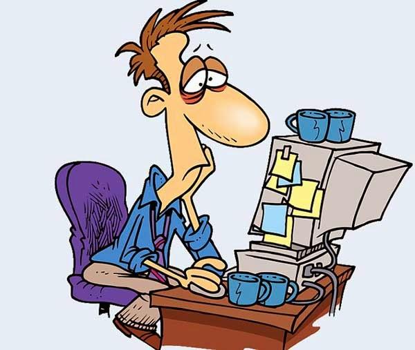мужик у компьютера