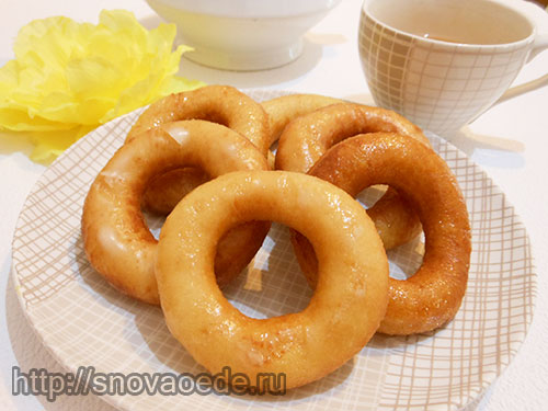 пончики рецепт с фото