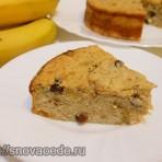 творожно банановая запеканка