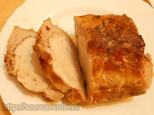 Свиная шейка запеченная в духовке