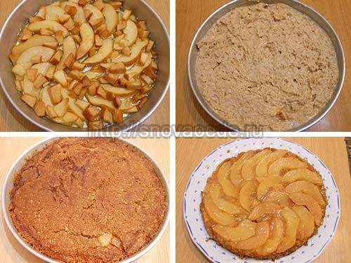 Пирог с айвой рецепт