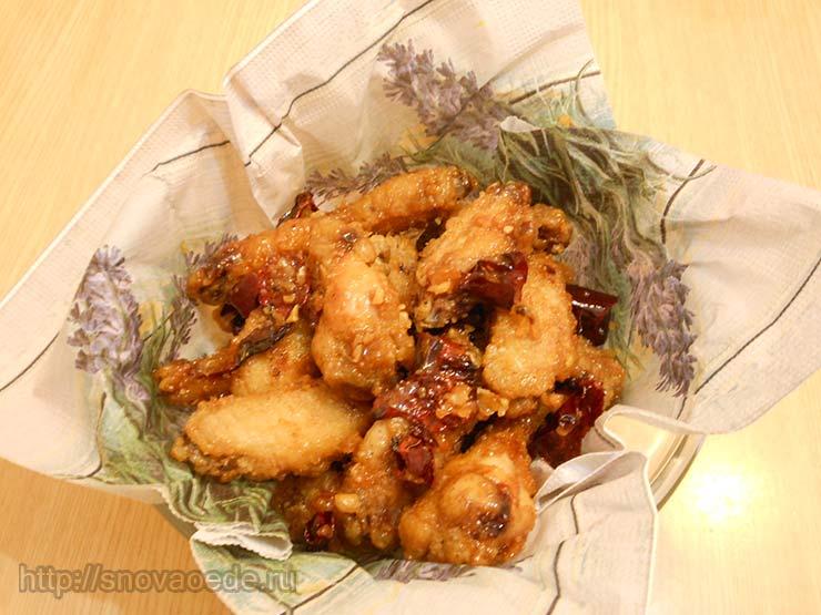 как приготовить куриные крылья в духовке рецепт
