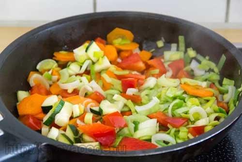 овощи для пирога