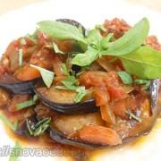 Рецепт тушеных баклажанов с овощами