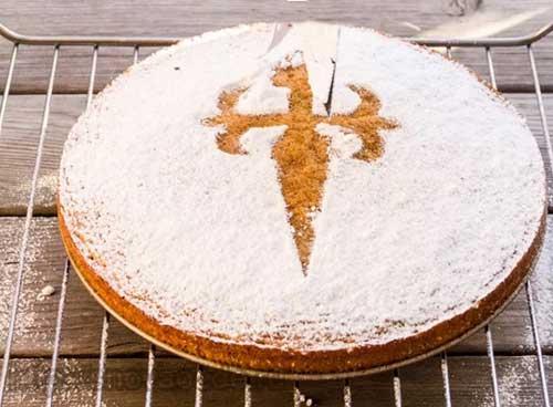 Торт миндальный Сантьяго